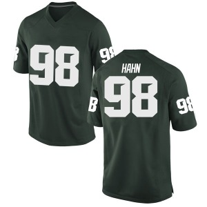 Cole Hahn Nike Michigan State Spartans Men's Replica Football College Jersey - Green