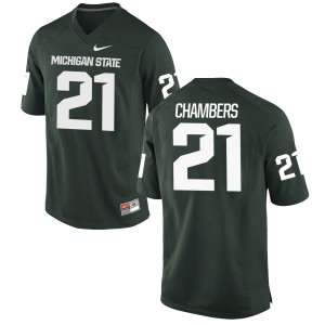 Cam Chambers Nike Michigan State Spartans Youth Limited Football Jersey  -  Green