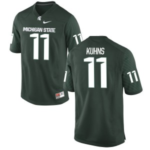 Colar Kuhns Nike Michigan State Spartans Women's Replica Jersey  -  Green