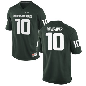 Messiah deWeaver Nike Michigan State Spartans Women's Limited Football Jersey  -  Green
