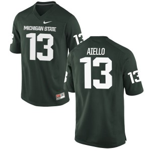 Robert Aiello Nike Michigan State Spartans Youth Authentic Football Jersey  -  Green